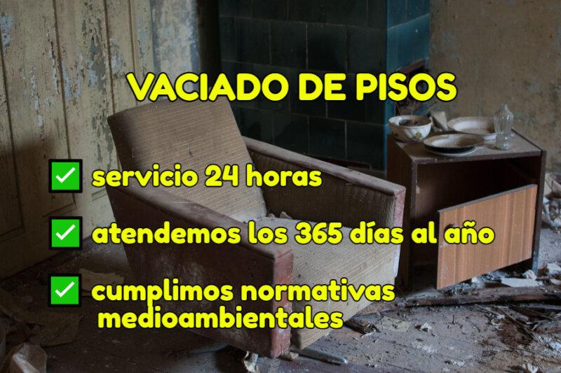 empresa de Vaciado desalojo pisos Vilafranca del Penedès