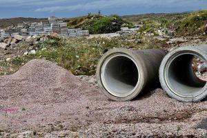 recogida escombros y runa de construcción en Valle de Egüés