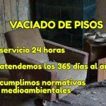 Vaciado desalojo pisos-Santoña